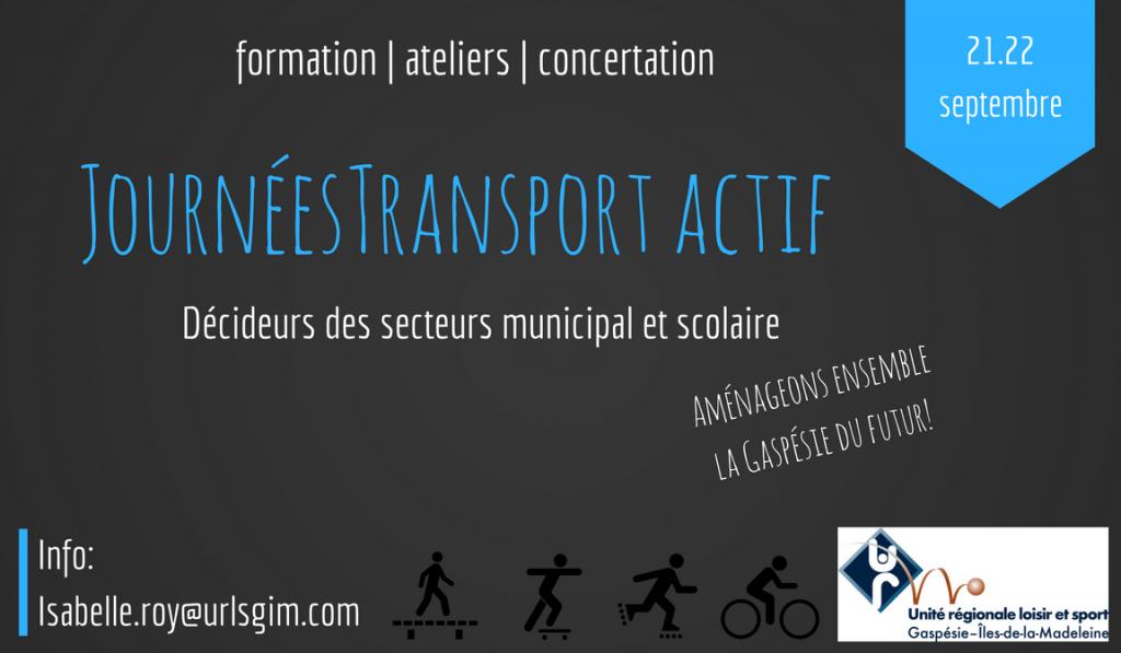 Journées Transport actif